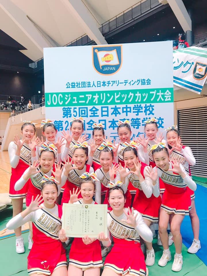 チア リーディング ジャパン カップ 2020